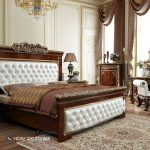 Model Set Tempat Tidur Mewah Klasik Kayu Jati Ukiran Jepara Terbaru Veronica