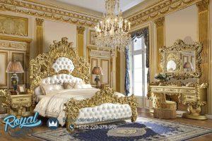 Desain Bedroom Tempat Tidur Ukir Klasik Jepara Terbaru Eropa Super Mewah Elegant