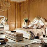 Desain Set Kamar Tidur Pengantin Mewah Modern Italian Style Terbaru