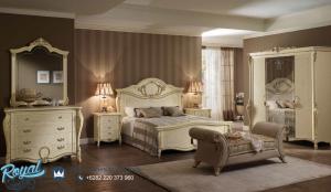 Model Set Tempat Tidur Modern Mewah Ukiran Klasik Jepara Tiziano