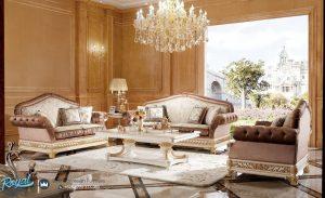 Set Sofa Tamu Jepara Terbaru Luxury Modern Ukiran Jepara