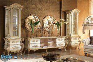 Bufet Tv Jepara Terbaru Mewah Ukir Klasik Jepara Luxury Terbaru