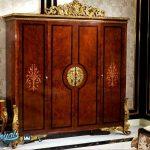 Tempat Tidur Jati Klasik Ukir Jepara Luxury Davinci Style Terbaru