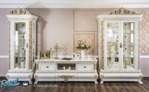 Bufet Tv Jepara Terbaru Mewah Klasik Ukir Jepara Luxury Style