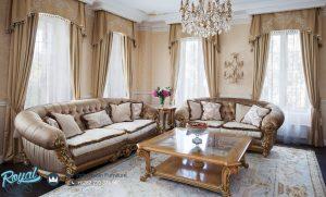 Sofa Tamu Jati Klasik Ukiran Jepara Classico European