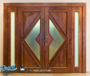 Model Pintu Dan Kusen Jati Kupu Tarung Minimalis