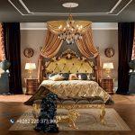 Bedroom Set Luxury Classic Kayu Jati Ukir Jepara Bella Vita