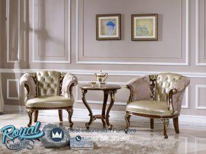 Sofa Teras Ruang Tamu Jati Ukir Classic