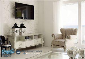 Ruang Meja Tv Modern Putih Italiyo